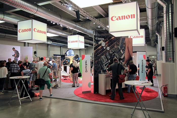Canon Messe-Stand