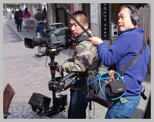 routen nachbearbeitung videofilm